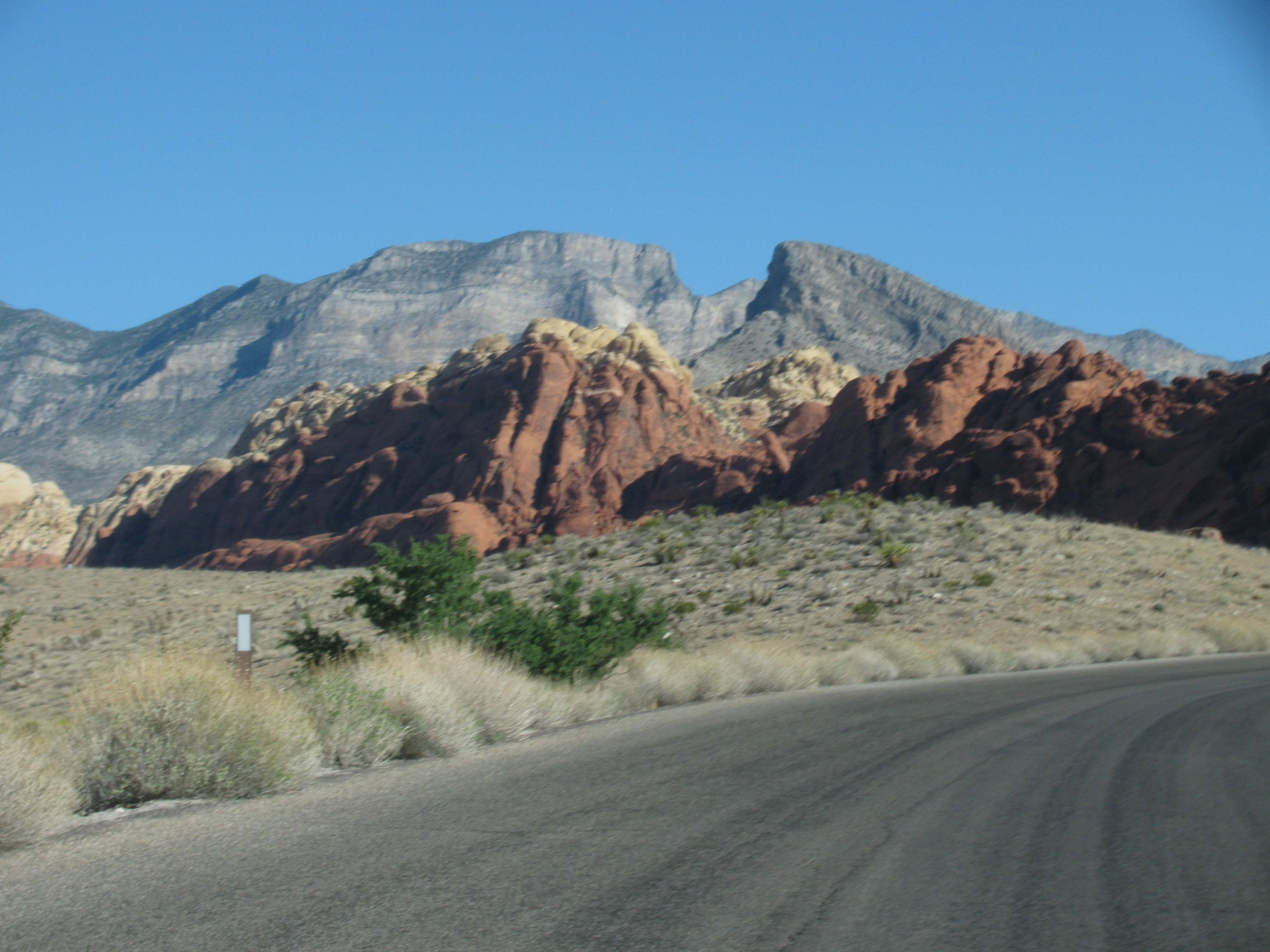 Red Rock Canyon & Blue man group